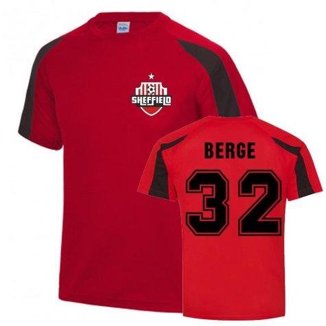 Sander Berge Sheffield United Sports Training Jersey (Red)