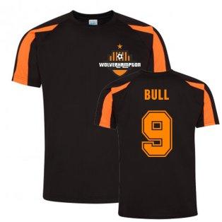 Steve Bull Wolves Sports Training Jersey (Black)