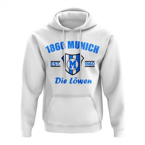 1860 Munich Established Hoody (White)