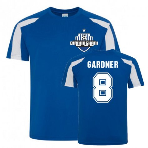 Craig Gardner Birmingham City Sports Training Jersey (Blue)