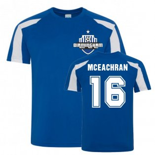 Josh McEachran Birmingham City Sports Training Jersey (Blue)