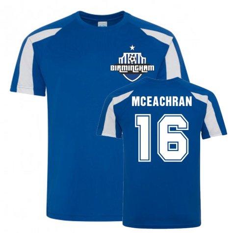 Josh McEachran Birmingham City Sports Training Jersey (Blue)