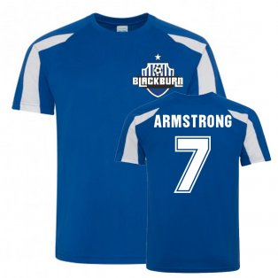 Adam Armstrong Blackburn Rovers Sports Training Jersey (Blue)