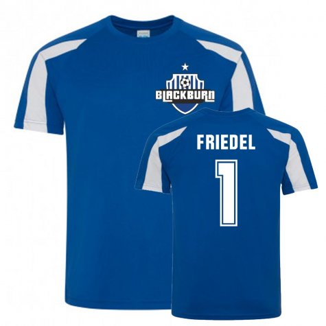 Brad Friedel Blackburn Rovers Sports Training Jersey (Blue)