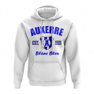 Auxerre Established Hoody (White)