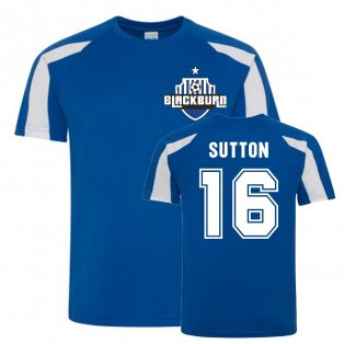 Chris Sutton Blackburn Rovers Sports Training Jersey (Blue)