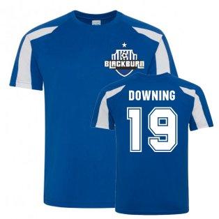Stuart Downing Blackburn Rovers Sports Training Jersey (Blue)