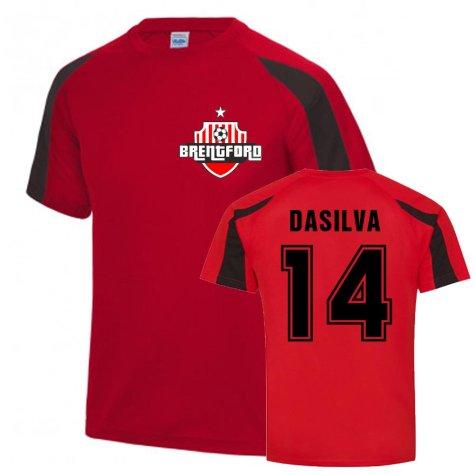 Josh Dasilva Brentford Sports Training Jersey (Red)
