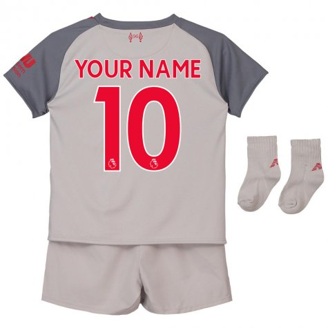 2018-2019 Liverpool Third Baby Kit (Your Name)