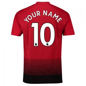 2018-2019 Man Utd Adidas Home Football Shirt