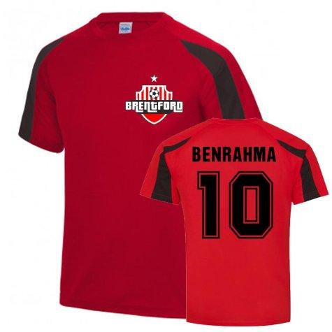 Said Benrahma Brentford Sports Training Jersey (Red)