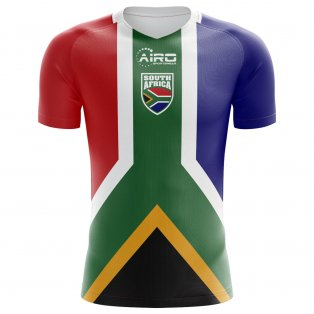 2020-2021 South Africa Home Concept Football Shirt - Womens
