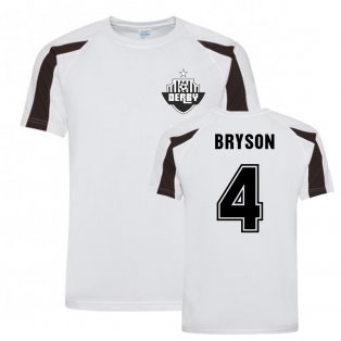 Craig Bryson Derby County Sports Training Jersey (White)