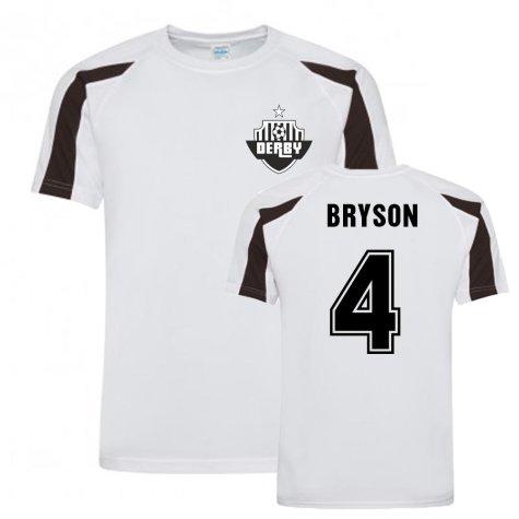 Craig Bryson Derby County Sports Training Jersey (White)