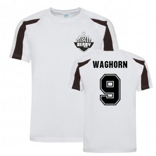 Martyn Waghorn Derby County Sports Training Jersey (White)