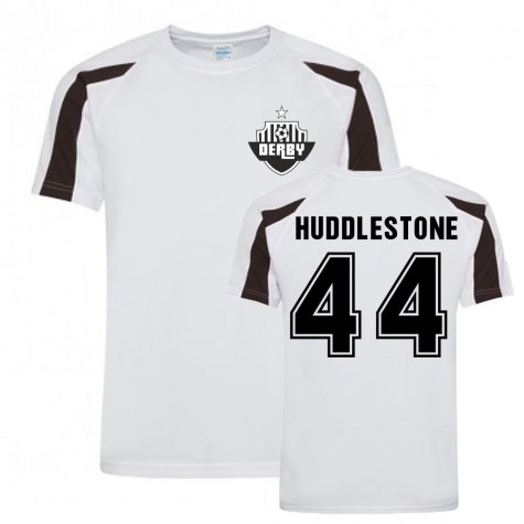 Tom Huddlestone Derby County Sports Training Jersey (White)