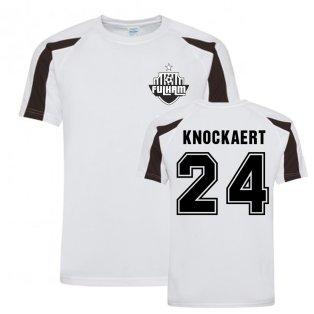 Anthony Knockaert Fulham Sports Training Jersey (White)