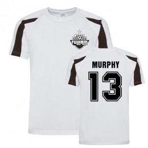 Danny Murphy Fulham Sports Training Jersey (White)