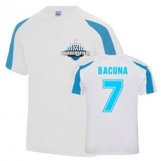 Juninho Bacuna Huddersfield Sports Training Jersey (White)