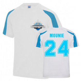Steve Mounie Huddersfield Sports Training Jersey (White)