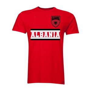 Albania Core Football Country Hoody (Red)