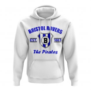 Bristol Rovers Established Hoody (White)