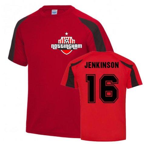 Carl Jenkinson Nottingham Forest Sports Training Jersey (Red)