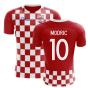 2020-2021 Croatia Flag Concept Football Shirt (Modric 10) - Kids