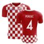 2018-2019 Croatia Flag Concept Football Shirt (Perisic 4) - Kids