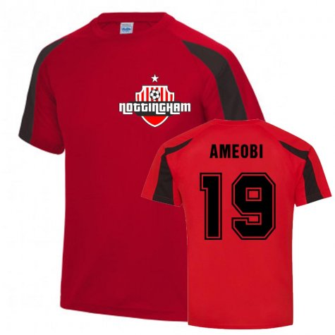 Sammy Ameobi Nottingham Forest Sports Training Jersey (Red)