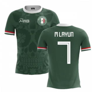 2018-2019 Mexico Home Concept Football Shirt (M Layun 7) - Kids