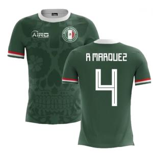 2020-2021 Mexico Home Concept Football Shirt (R Marquez 4) - Kids