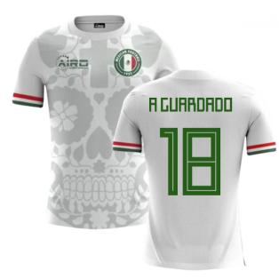 2020-2021 Mexico Away Concept Football Shirt (A Guardado 18) - Kids