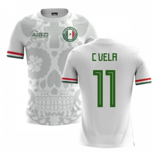 2018-2019 Mexico Away Concept Football Shirt (C Vela 11) - Kids