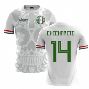 245d5b97b 2018-2019 Mexico Away Concept Football Shirt (Chicharito 14)