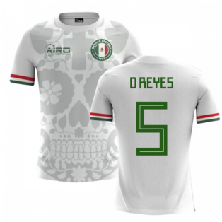 2018-2019 Mexico Away Concept Football Shirt (D Reyes 5) - Kids