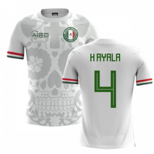 2018-2019 Mexico Away Concept Football Shirt (H Ayala 4) - Kids