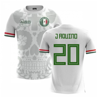 2020-2021 Mexico Away Concept Football Shirt (J Aquino 20) - Kids