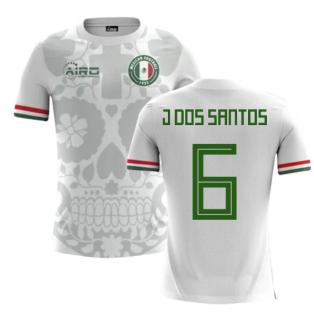 2018-2019 Mexico Away Concept Football Shirt (J Dos Santos 6) - Kids