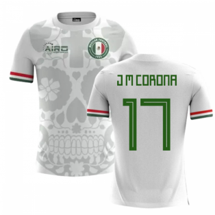 2018-2019 Mexico Away Concept Football Shirt (J M Corona 17) - Kids
