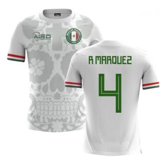 2018-2019 Mexico Away Concept Football Shirt (R Marquez 4) - Kids