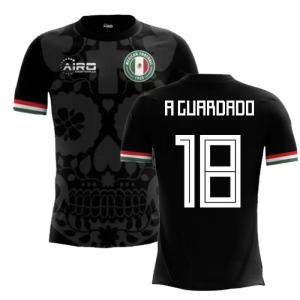 2018-2019 Mexico Third Concept Football Shirt (A Guardado 18) - Kids