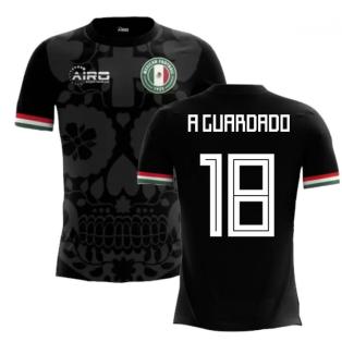 2020-2021 Mexico Third Concept Football Shirt (A Guardado 18) - Kids