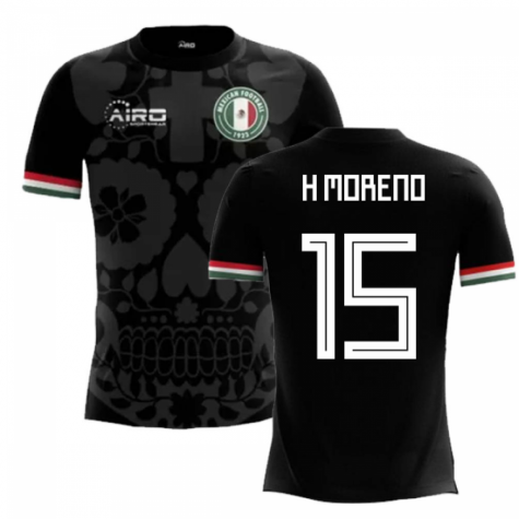 2018-2019 Mexico Third Concept Football Shirt (H Moreno 15) - Kids