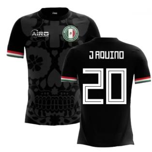 2018-2019 Mexico Third Concept Football Shirt (J Aquino 20) - Kids