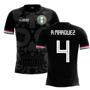 2018-2019 Mexico Third Concept Football Shirt (R Marquez 4) - Kids