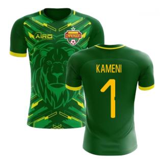 2018-2019 Cameroon Home Concept Football Shirt (Kameni 1) - Kids