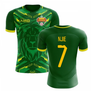 2020-2021 Cameroon Home Concept Football Shirt (Njie 7) - Kids