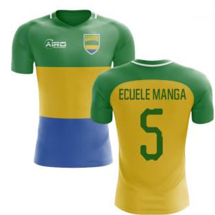 2018-2019 Gabon Home Concept Football Shirt (Ecuele Manga 5) - Kids