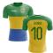 2018-2019 Gabon Home Concept Football Shirt (Lemina 10) - Kids